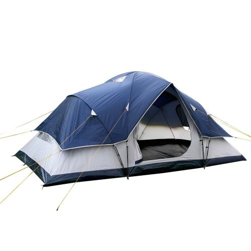 DetailsWeisshorn Camping TentFeaturing a 6 person camping tent that is perfect for weekend getaways and holidays. It uses waterproof and UV resistant 190T polyester rainfly for excellent weather protection....