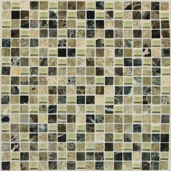 American Olean Visionaire American Olean Pack In X In Legacy Slate - American olean glass and stone mosaic tile