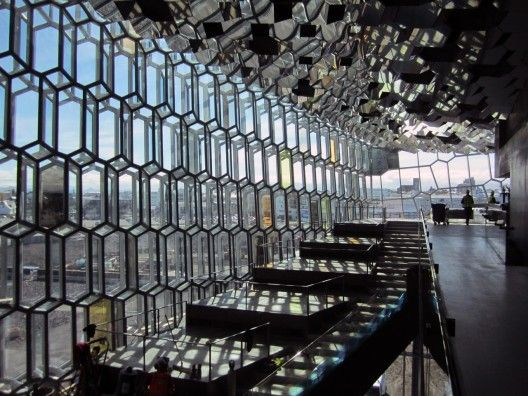 Harpa Concert Hall and Conference Centre / Henning Larsen Architects and Olafur Eliasson artist.