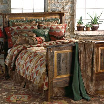 rustic southwest bedroom furniture southwestern old hickory ranch style albuquerque