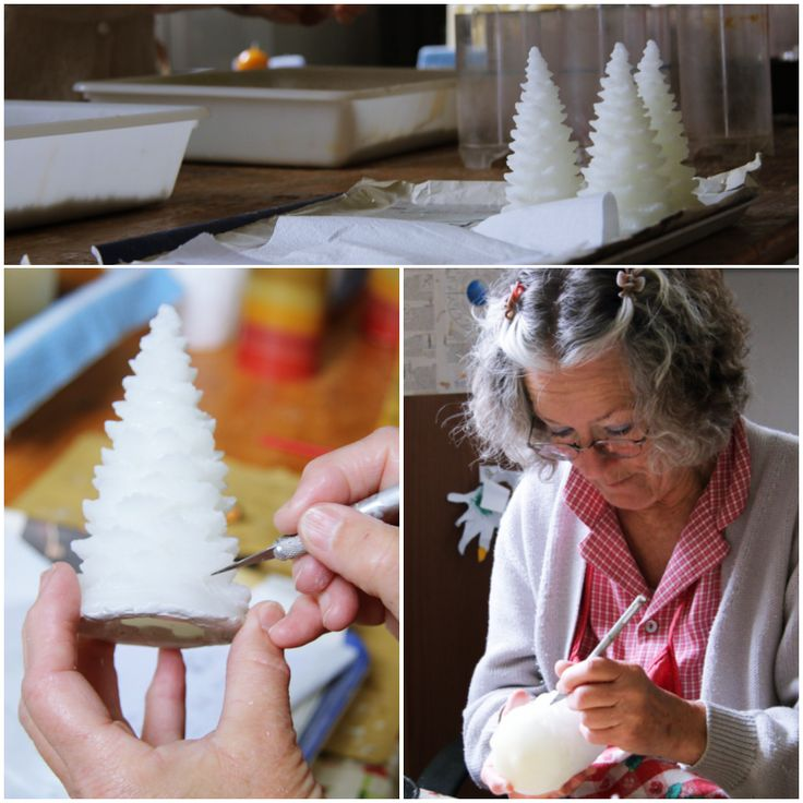 These are actually not #candles, but shapes for new #moulds that are being carefully refined!!