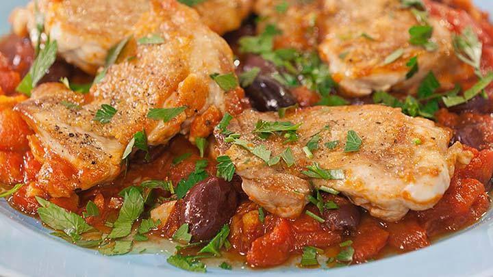 Chicken Nicoise Style