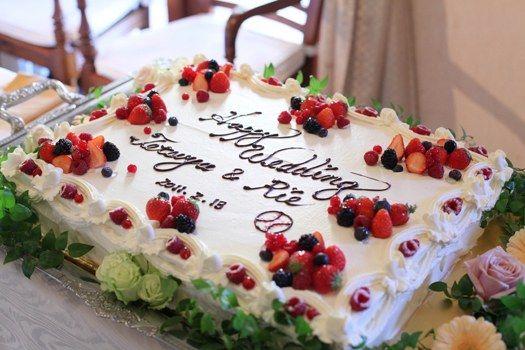 Wケーキは全てレストランでの手作り!二人の希望をしっかりと形にできる | Le FIORE(ル・フィオーレ)(神奈川県:レストラン) | 結婚式場・結婚準備の口コミサイト-みんなのウェディング [写真から探す]