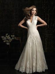 Online Shop 2014 Fashion Elegant Zipper Wedding Dresses Custom Size:2+4+6+8+10+12++++|Aliexpress Mobile