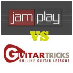 Guitar Tricks vs JamPlay Review. Which is the best online guitar lessons course?