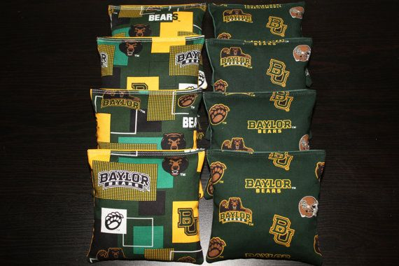 Baylor University Bears cornhole bean bags