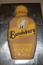 Bundaberg Rum Birthday cake
