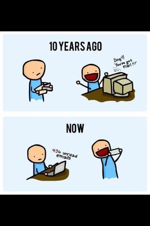 email vs snail mail I had my interview today, and they said they will make a decision next week and very likely on monday i read lots of information about the email vs snail mail debate regarding thank you letters, and i think the conclusion is that snail mail is better.