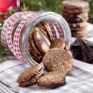 Gefüllte Schokoladenplätzchen - Landwirtschaftliches Wochenblatt Westfalen-Lippe