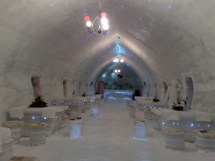 12 Superb Places To Visit In Romania | Ice Hotel at Balea