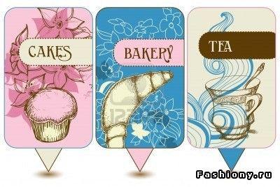 Карточки для чайной вечеринки
