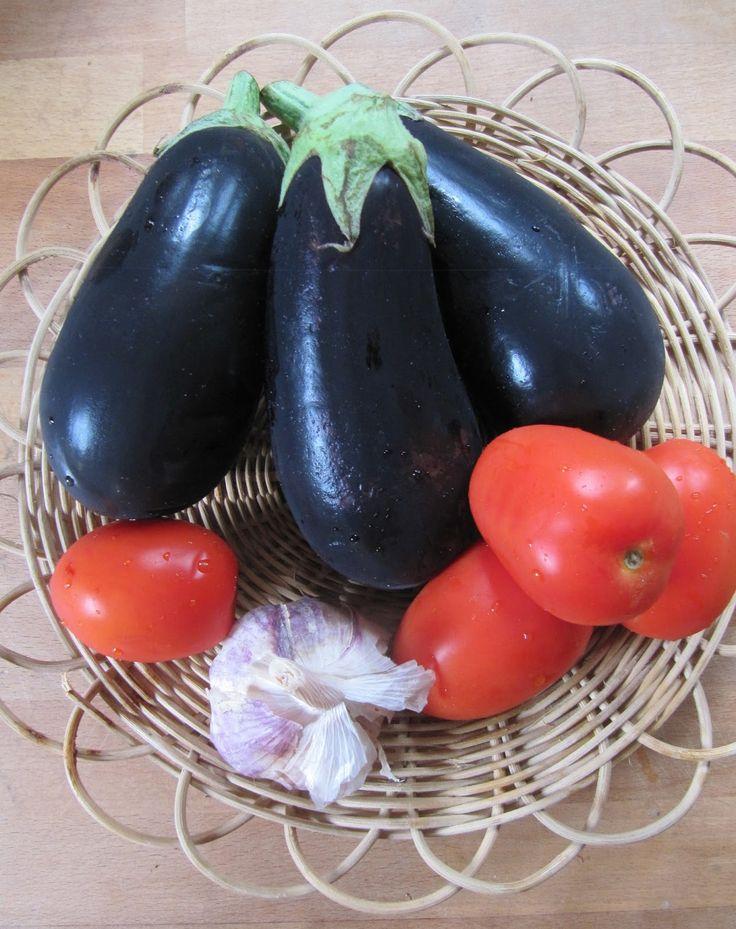 La cuisine d'ici et d'ISCA: Riste d'aubergine