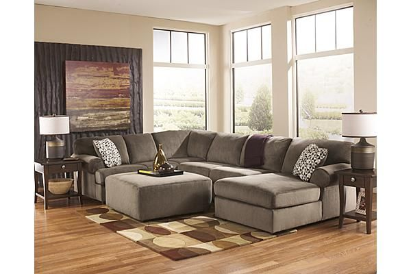 The jessa place 3 piece sectional from ashley furniture for Bedroom furniture in zanesville ohio
