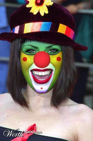 137 besten clown schminken bilder auf pinterest halloween makeup karneval und halloween ideen - Clown schminken bilder ...