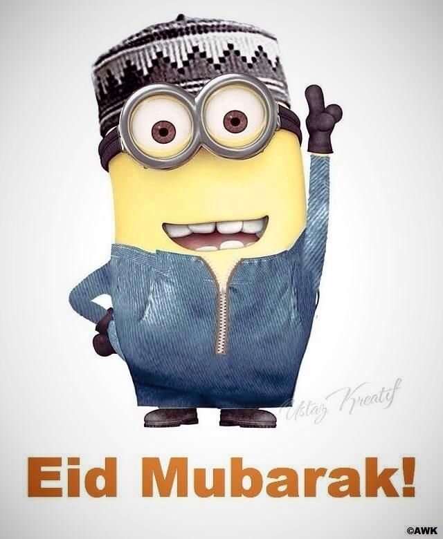 Minion on Eid Day