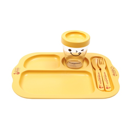Mother's Corn offers you a convenient alternative to your child's mealtime. You can feed multiple foods, using only ONE plate! Available at www.kidsberry.com.au