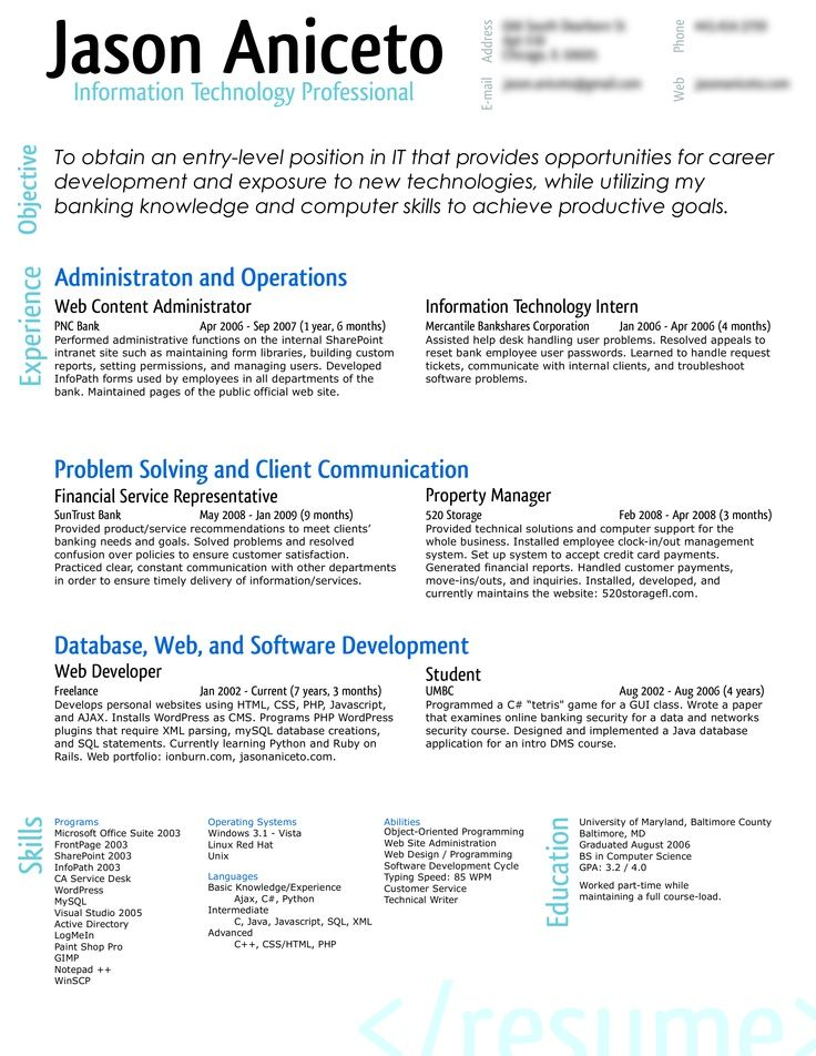 21 best Resume images on Pinterest Resume design, Resume ideas - xml resume example