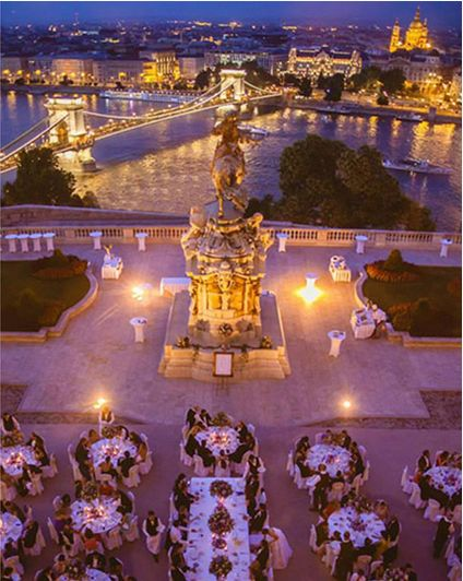 Wedding in Budapest Buda castle