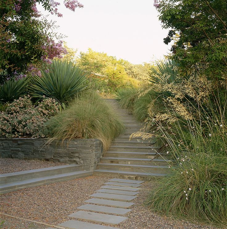 156 best Slope Planning images on Pinterest Gardens Landscaping