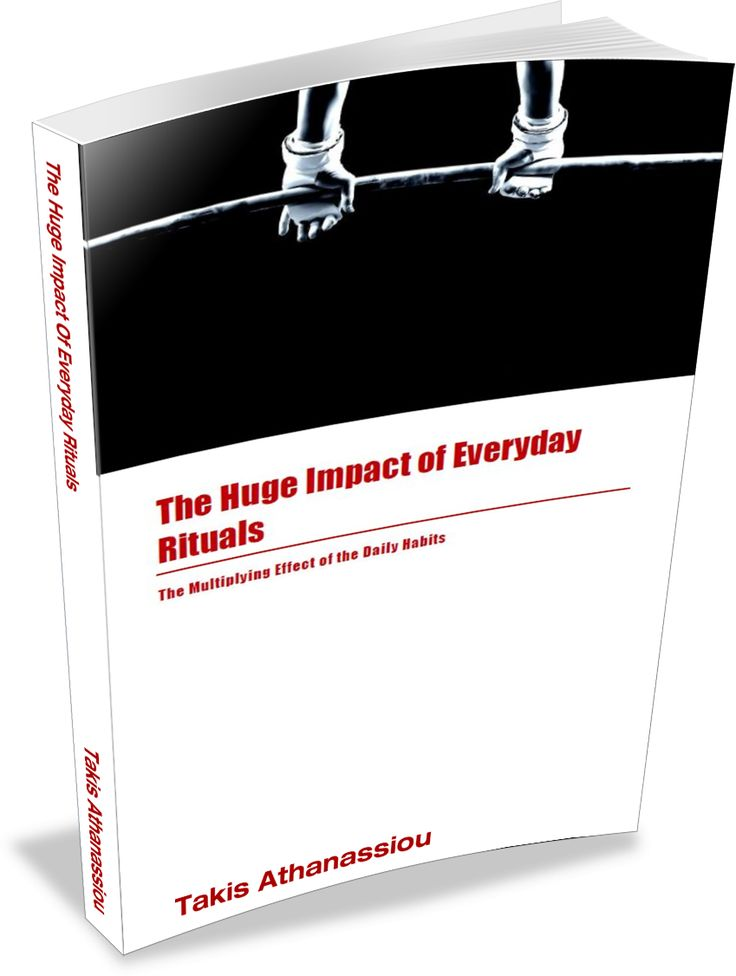 The huge impact of everyday rituals - Free productivity book #productivity