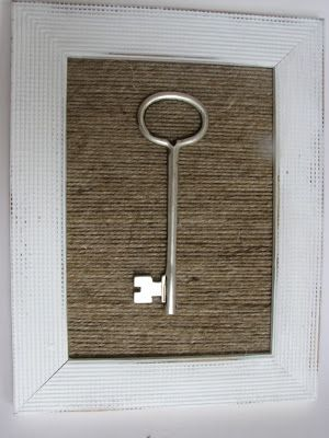 The Simple Craft Diaries: Jute Yarn Key Frame