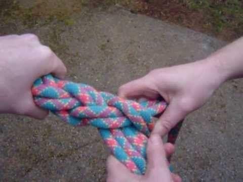 DIY crossfit climbing rope
