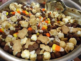 Egg Allergy Cooking: Fall Snack Mix