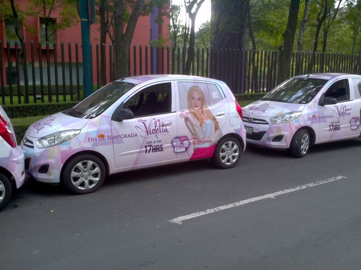 Geniaal!!!! Een Violetta auto❤️