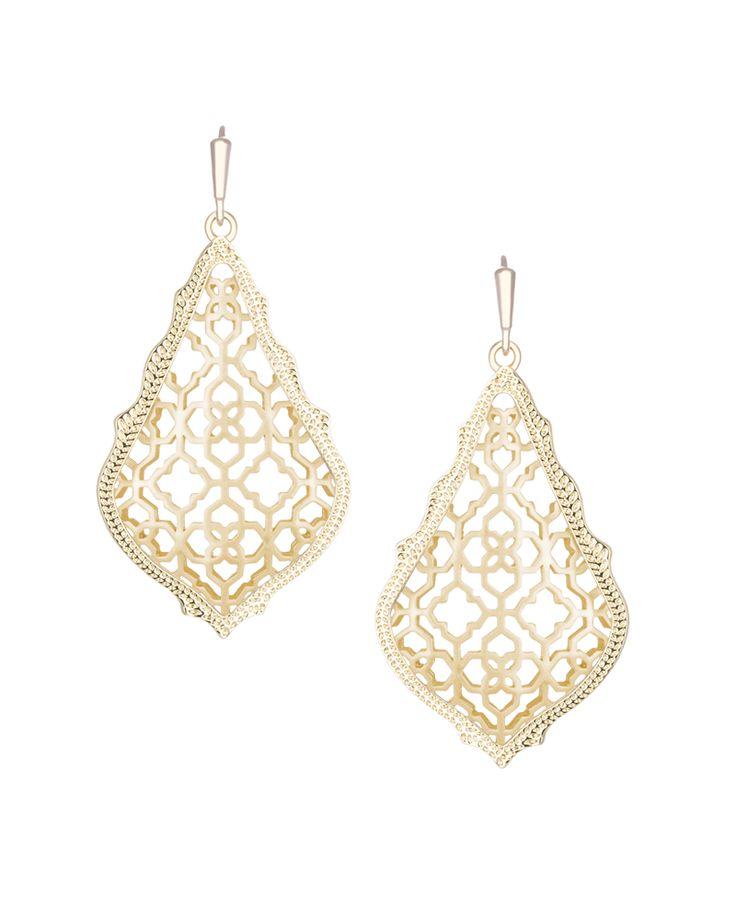 Kendra Scott Addie Earrings in Gold