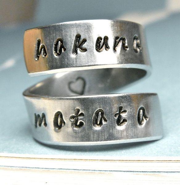 Hakuna Matata Ring