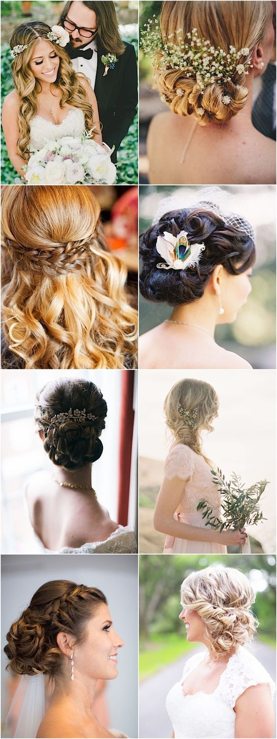 long updo wedding hairstyles and updos / http://www.himisspuff.com/bridal-wedding-hairstyles-for-long-hair/25/