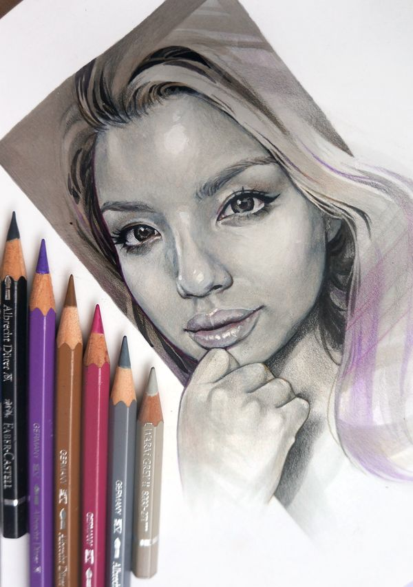Grav3yardgirl - Time lapse drawing with voice over - YouTube
