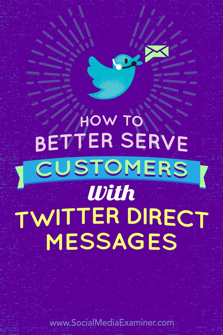 Moving customer service discussions to private Twitter Direct Message (DM) threads can help your support team quickly resolve issues.  In this article, you'll discover how to use the latest Twitter Direct Message features to improve your customer service.