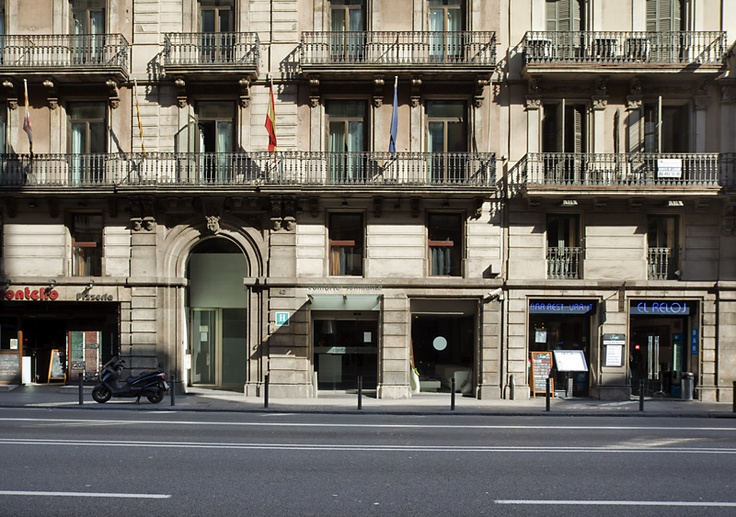 Esta es la fachada de ILUNION Almirante de Barcelona. http://www.ilunionalmirante.com/
