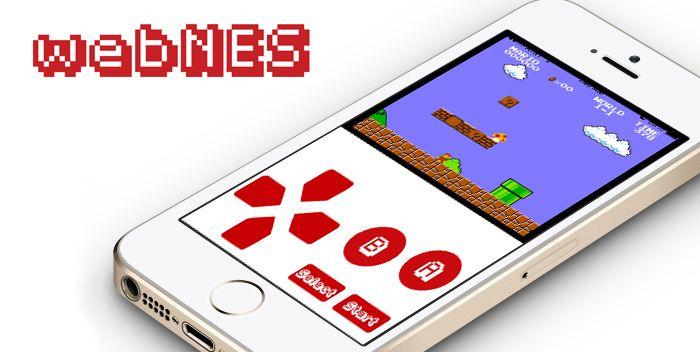 脱獄不要:iPhoneのブラウザで動くファミコン・エミュレータ「webNES」