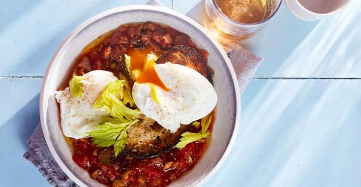 From an award-winning chef, straight to your table. Gail Simons' Bloody Mary Eggs, from MBG!