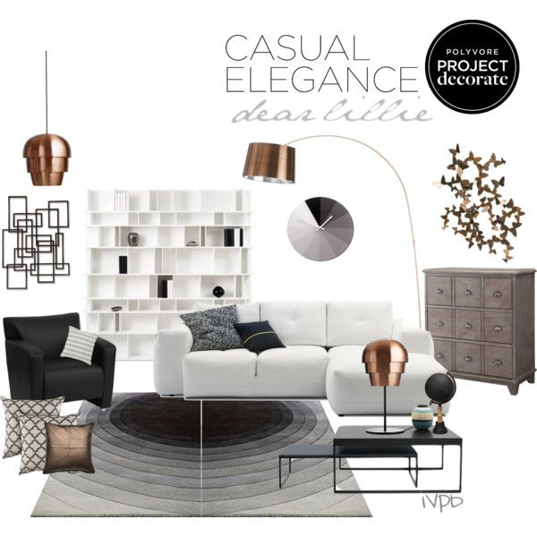 Casual elegance!! by iveparedes on Polyvore featuring interior