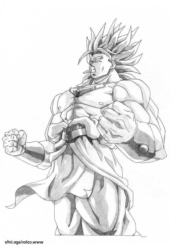 Coloriage De Dragon Ball Z Sangoku Super Sayen 10 8 Décent