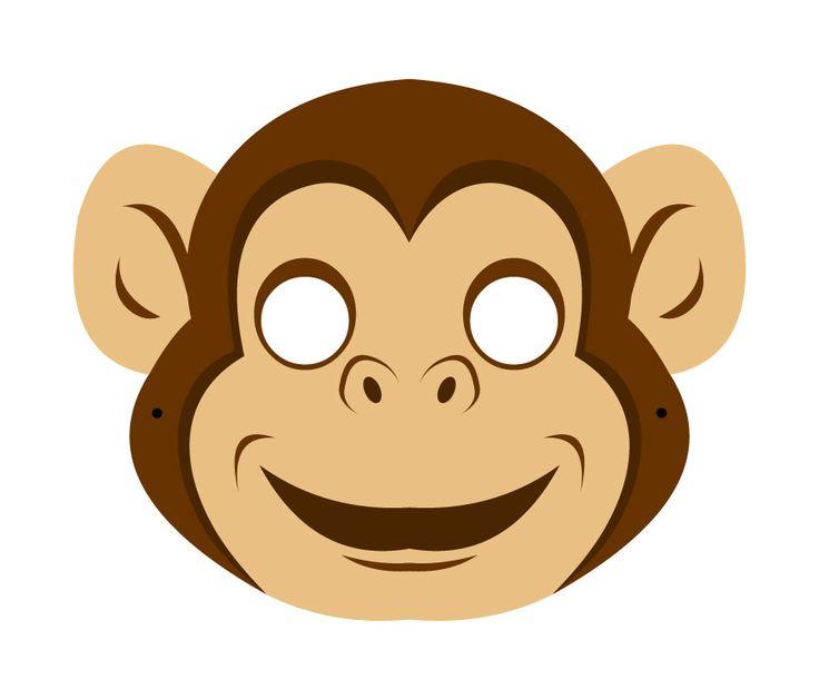 #Lactease ti regala gli animali della giungla! Stampa e ritaglia la SCIMMIA  ---> http://ow.ly/Jk5pK  #maschera #carnevale