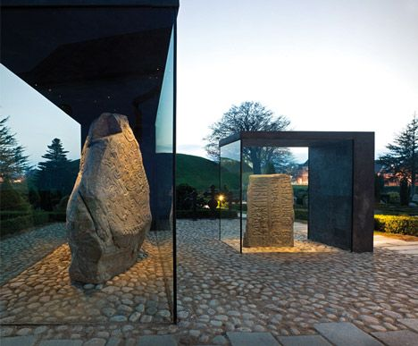 Covering of the Runic Stones in Jelling by NOBEL Arkitekter