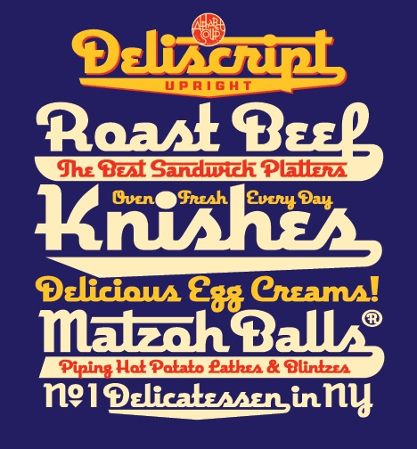 New York Jewish Deli designs!