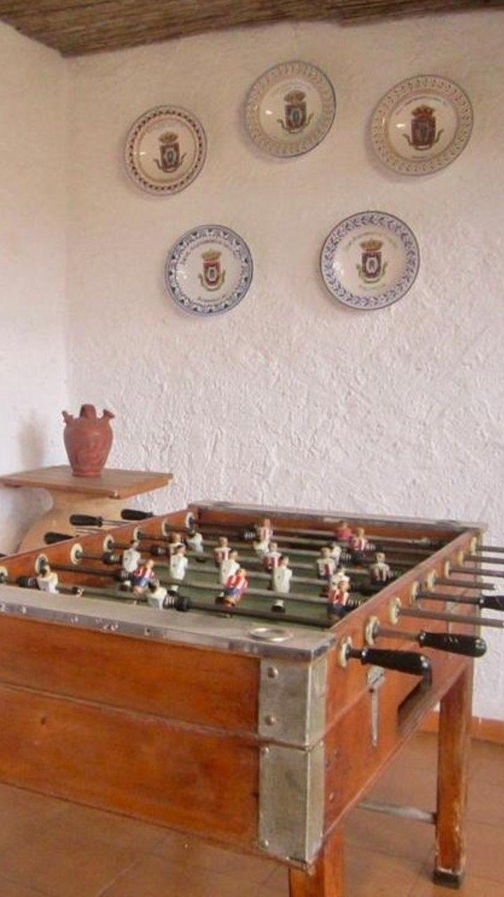 Ciudad Real Casa Con Billar Futbolín Diana Piscina Patio Con Barbacoa En Granátula De Calatrava Casas Rurales Futbolín Billares