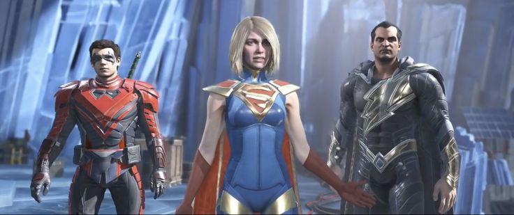 INJUSTICE 2 Supergirl. Robin