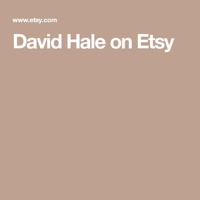David Hale on Etsy