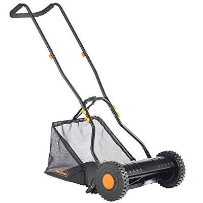 VonHaus 40cm Manual Cylinder Garden Lawn Mower with FREE Extended 2 Year Warranty