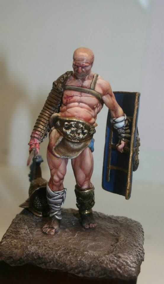 """My painting """" The Old Gladiator """""""