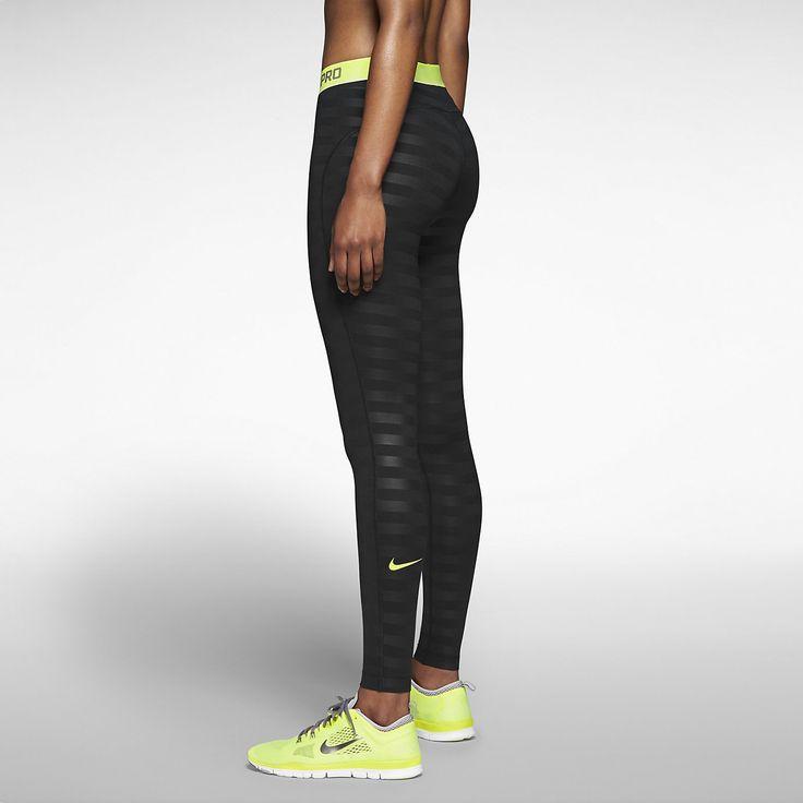 Nike Pro Hyperwarm Embossed Women's Training Tights. Nike Store