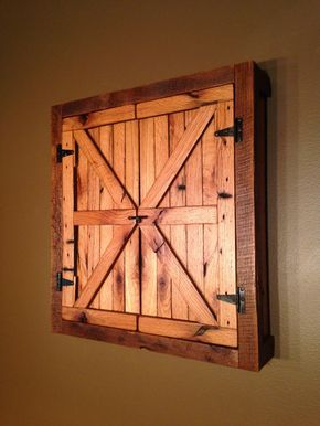 Rustic Dartboard Cabinet - Natural, Reclaimed Barn Wood, Home Decor, Home & Living-MADE TO ORDER by TerramaeAndCo