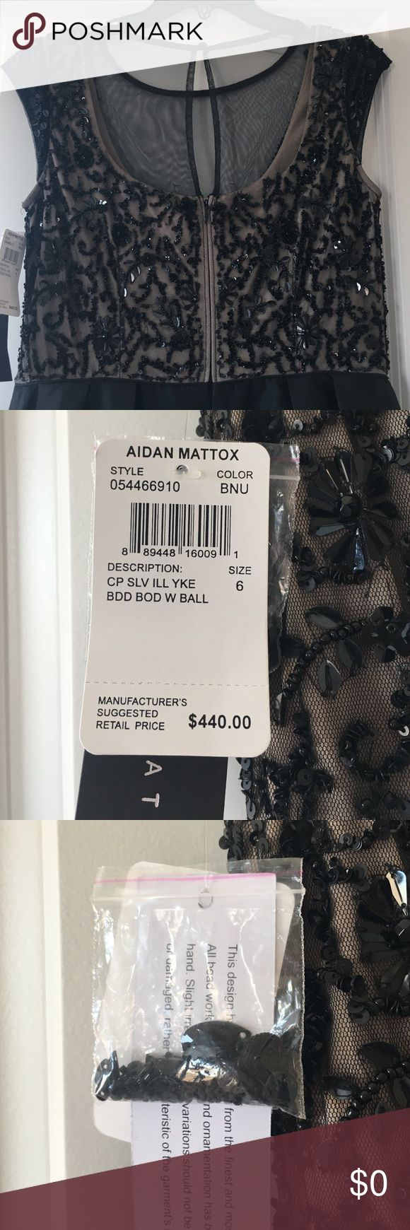 Additional photos of Aidan Mattox gown See other listing for sale price! Aidan Mattox Dresses