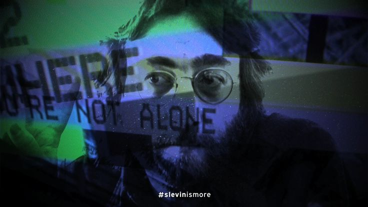 John Lennon - Concept design by Slevin www.slevin.it #slevinismore
